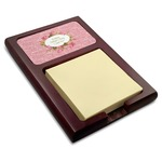 Mother's Day Red Mahogany Sticky Note Holder