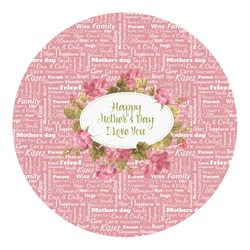 Mother's Day Round Decal - Small