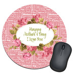 Mother's Day Round Mouse Pad