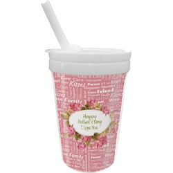 Mother's Day Sippy Cup with Straw
