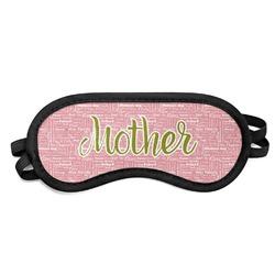 Mother's Day Sleeping Eye Mask