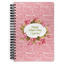 Mother's Day Spiral Bound Notebook