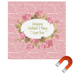 Mother's Day Square Car Magnet