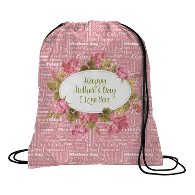 Mother's Day Drawstring Backpack - Medium