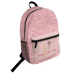 Mother's Day Student Backpack