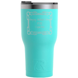 Mother's Day RTIC Tumbler - Teal - Engraved Front