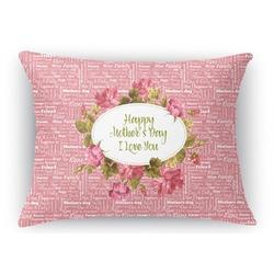 Mother's Day Rectangular Throw Pillow Case