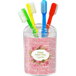 Mother's Day Toothbrush Holder
