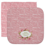Mother's Day Facecloth / Wash Cloth (Personalized)