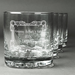 Mother's Day Whiskey Glasses (Set of 4)