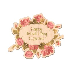 Mother's Day Genuine Wood Sticker