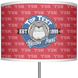 "School Mascot 13"" Drum Lamp Shade (Personalized)"