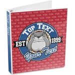 School Mascot 3-Ring Binder (Personalized)