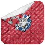 School Mascot Baby Hooded Towel (Personalized)