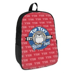 School Mascot Kids Backpack (Personalized)