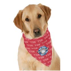School Mascot Dog Bandana Scarf w/ Name or Text