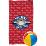 School Mascot Beach Towel (Personalized)