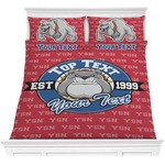 School Mascot Comforters (Personalized)