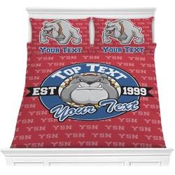 School Mascot Comforters (Personalized)