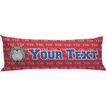 School Mascot Body Pillow Case (Personalized)