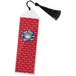 School Mascot Book Mark w/Tassel (Personalized)