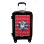School Mascot Carry On Hard Shell Suitcase (Personalized)