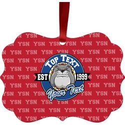 School Mascot Ornament (Personalized)