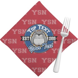 School Mascot Napkins (Set of 4) (Personalized)
