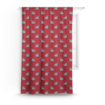 School Mascot Curtain (Personalized)