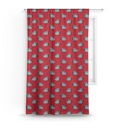 School Mascot Curtain (Personalized)