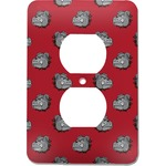 School Mascot Electric Outlet Plate (Personalized)