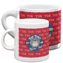 School Mascot Espresso Cups (Personalized)