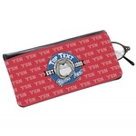 School Mascot Genuine Leather Eyeglass Case (Personalized)