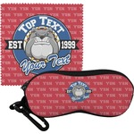 School Mascot Eyeglass Case & Cloth (Personalized)