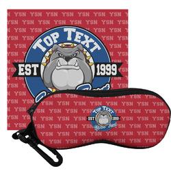 School Mascot Eyeglass Case & Cloth (Personalized)