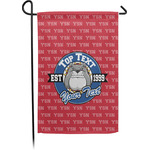 School Mascot Garden Flag - Single or Double Sided (Personalized)