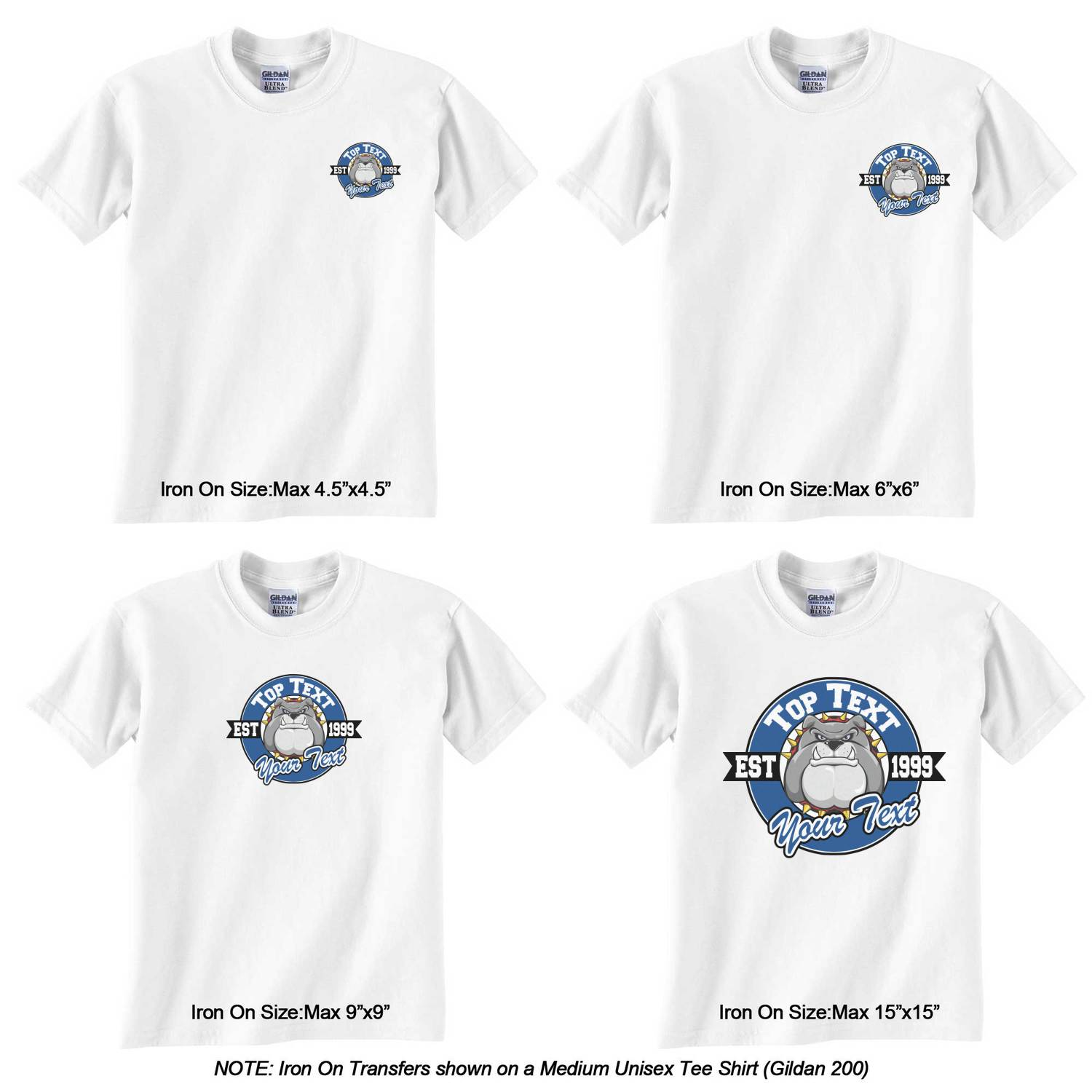 Design your own t-shirt iron on transfer -  Transfer Personalized School Mascot Graphic Iron On Transfer School Mascot Iron On Transfer Sizes On Tee Shirt