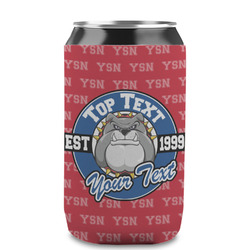 School Mascot Can Sleeve (12 oz) (Personalized)