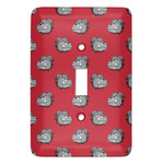School Mascot Light Switch Cover (Single Toggle) (Personalized)