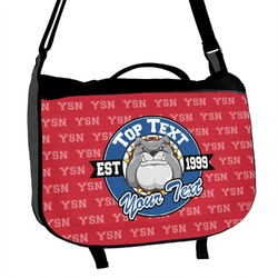 School Mascot Messenger Bag (Personalized)