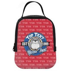 School Mascot Neoprene Lunch Tote (Personalized)