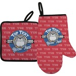 School Mascot Oven Mitt & Pot Holder (Personalized)