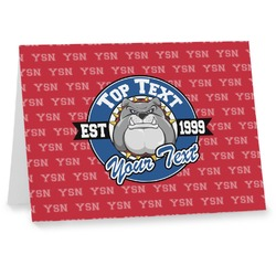 School Mascot Notecards (Personalized)