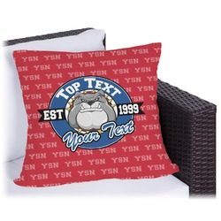 "School Mascot Outdoor Pillow - 20"" (Personalized)"