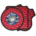 School Mascot Iron on Patches (Personalized)