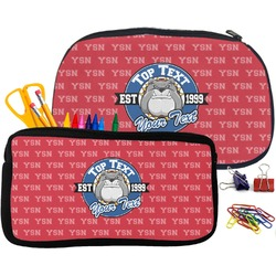 School Mascot Pencil / School Supplies Bag (Personalized)