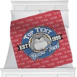 School Mascot Minky Blanket (Personalized)