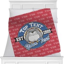 School Mascot Blanket (Personalized)