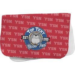 School Mascot Burp Cloth (Personalized)