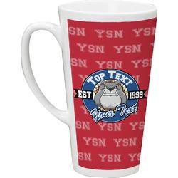 School Mascot 16 Oz Latte Mug (Personalized)